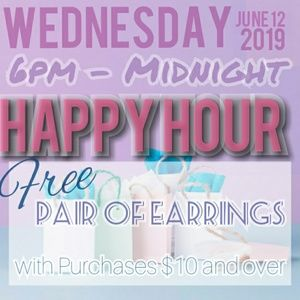Denim - Free EARRINGS Tonight ONLY!